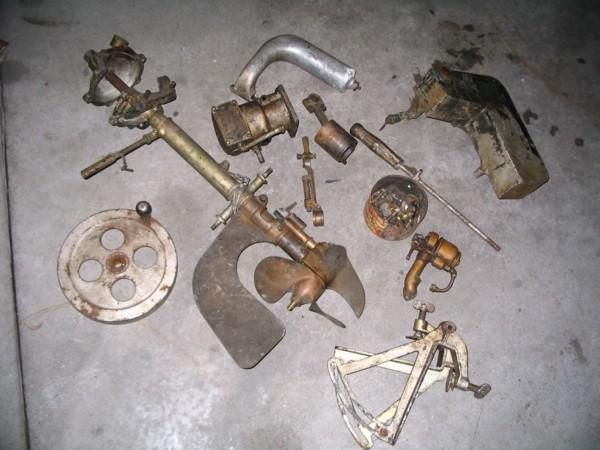 Ferro parts pile