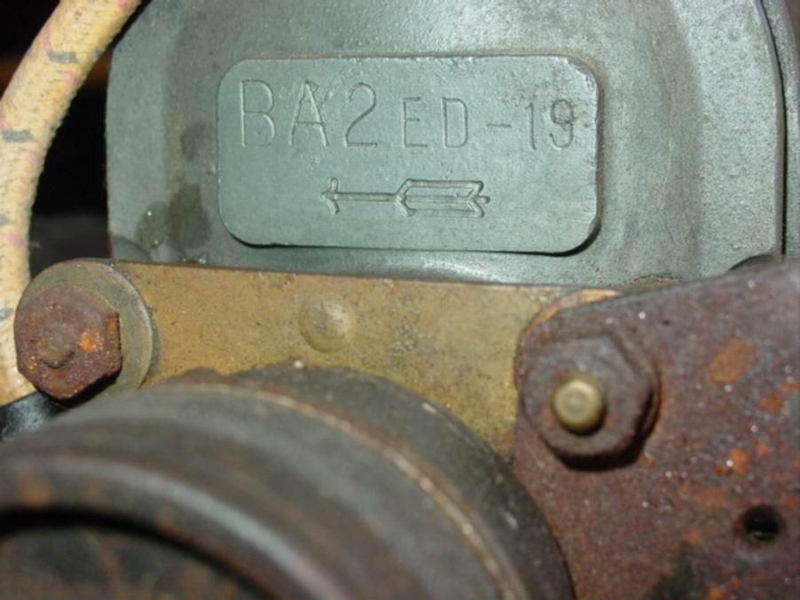 Old Marine Engine: American Bosch