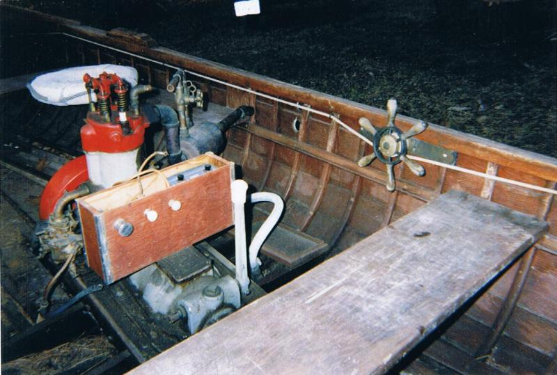 Bay Girl Engine View