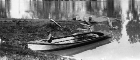 Mississippi River workboat 1927 flood