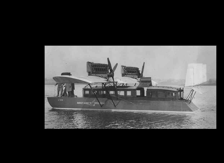 Dudley Aero Speedboat