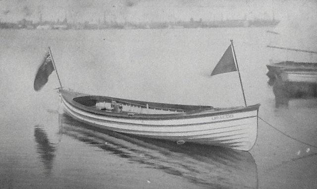 Toronto Harbor boat with Southam Motor