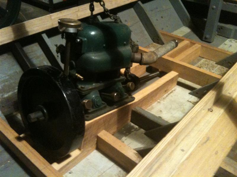 Fitting engine.