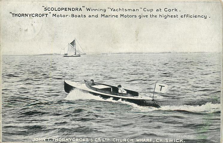 Scolopendra on Solent Aug 1903