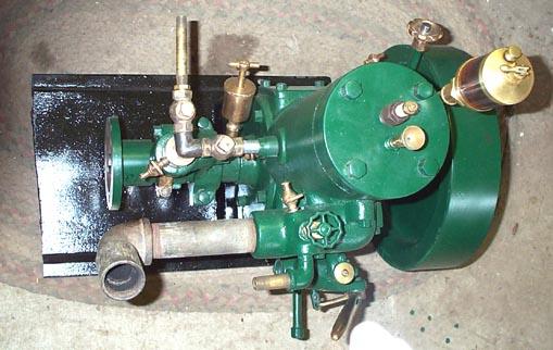 Straubel engine serial # 938 top view
