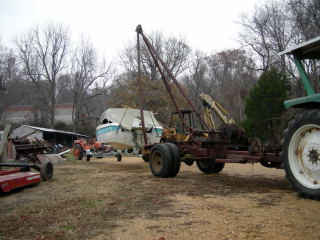 Moving old boat to newer trailer