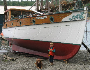 Gleniffer , ( built 1912 ) . SaltSpring Island B.C. Canada