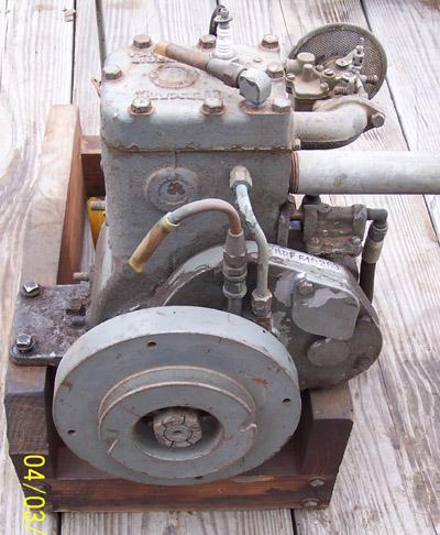 Kermath marine engine