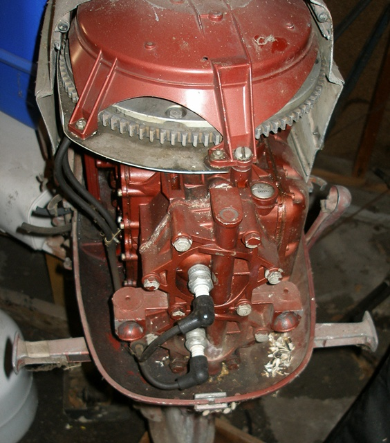 Old Marine Engine: how to find evinrude year for motor