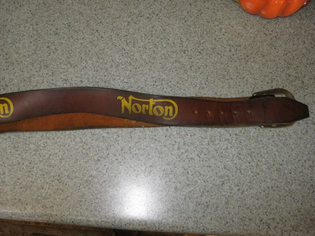 Norton Leather Belt