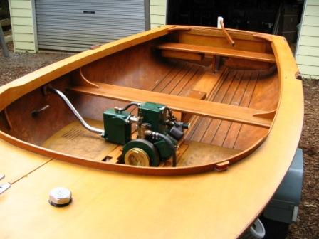 Underwood single in 12' dinghy